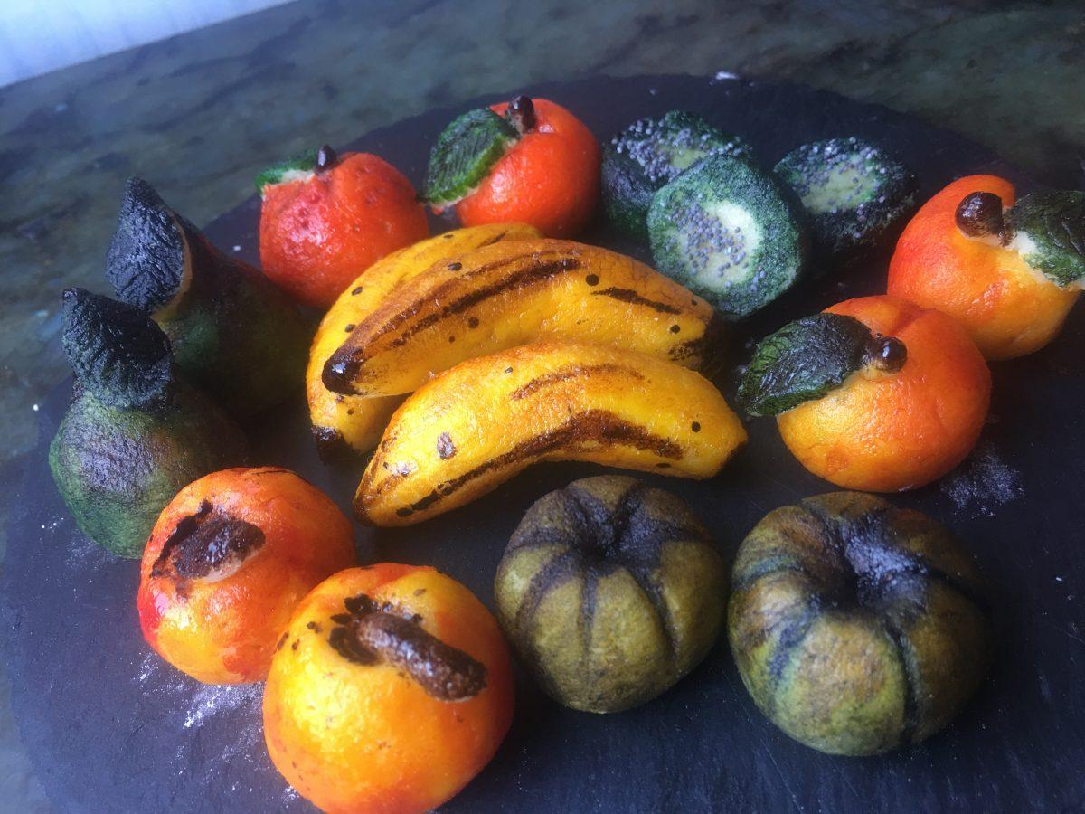 Fruits en massepain